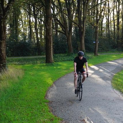 Freddie van der Kamp fiets